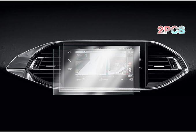 2 Stück Cdefg Für Peugeot 308 Sw Gti Auto Navigation Schutzfolie 4h Kratzfest Anti Fingerprint Gps