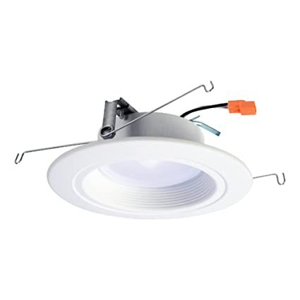 Halo rl 5 in and 6 in matte white integrated led recessed halo rl 5 in and 6 in matte white integrated led recessed lighting retrofit mozeypictures Image collections