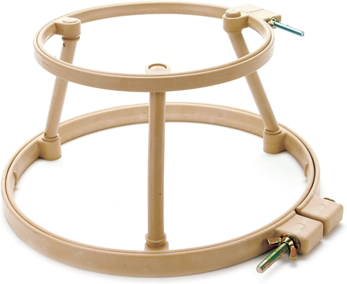 Morgan Products #166 7-Inch and 10-Inch Lap Stand Combo Hoops