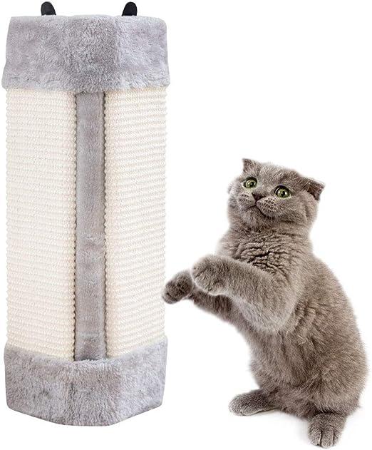 Pampurr rascador para Gatos o Gatos, para Colgar rascadores o Gatos, para Montar en la Pared, rascador de Pared o Poste, Esquinas Plegables para Mascotas: Amazon.es: Productos para mascotas