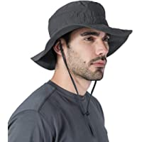 Boonie Sun Hat for Men & Women - Summer Cap with UV Protection - UPF 50 Outdoor Bucket Hat for Fishing, Beach, Hiking, Safari, Camping, Gardening & Boating - Skin Cancer Foundation Recommended