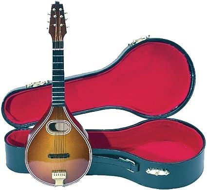 GEWA 980640 - Instrumentos en miniatura, mandolina con estuche, 15 cm: Amazon.es: Instrumentos musicales