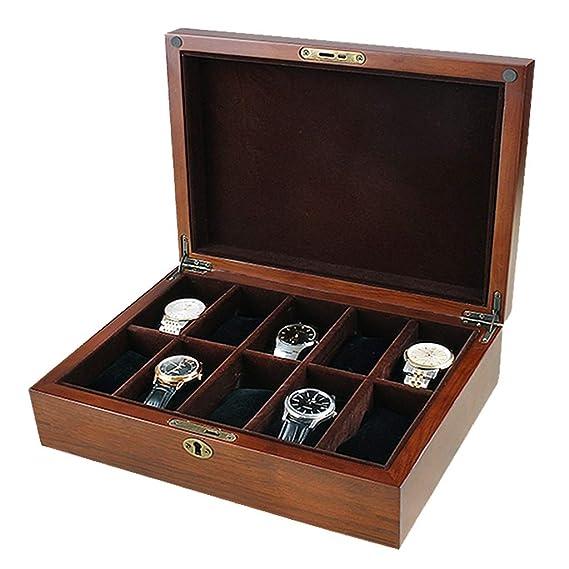 WCX Porta Relojes Y JoyasOrganizadores Reloj De Madera ...
