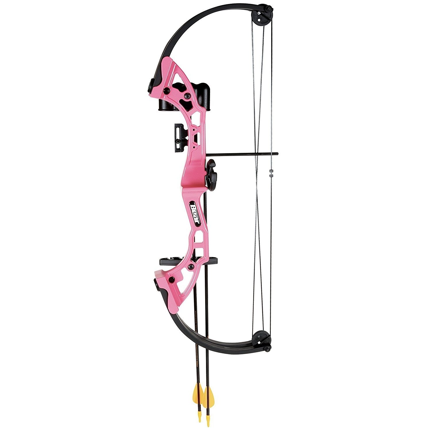 By-Ear Archery Archery Compound Bow, Pink Brave Girls Boys Compound Bow Set