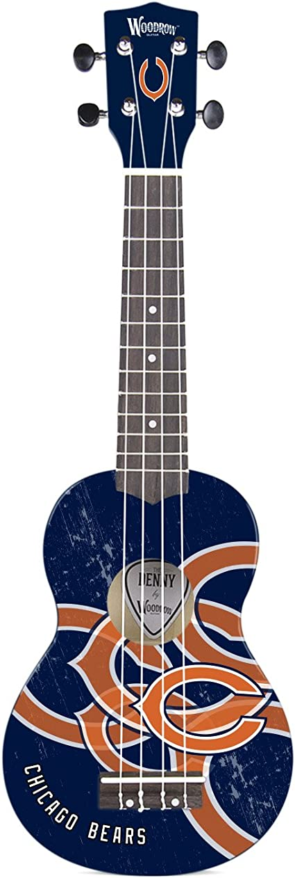 Woodrow Guitar by The Sports Vault NFL Unisex NFL Collectible Mini NorthEnder Guitar