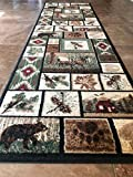 Carpet King Cabin Style Runner Area Rug Rustic Native American Western Country Bear Elk Deer Wildlife Lodge Native Design 386 (2 Feet 2 Inch X 7 Feet 2 Inch) For Sale