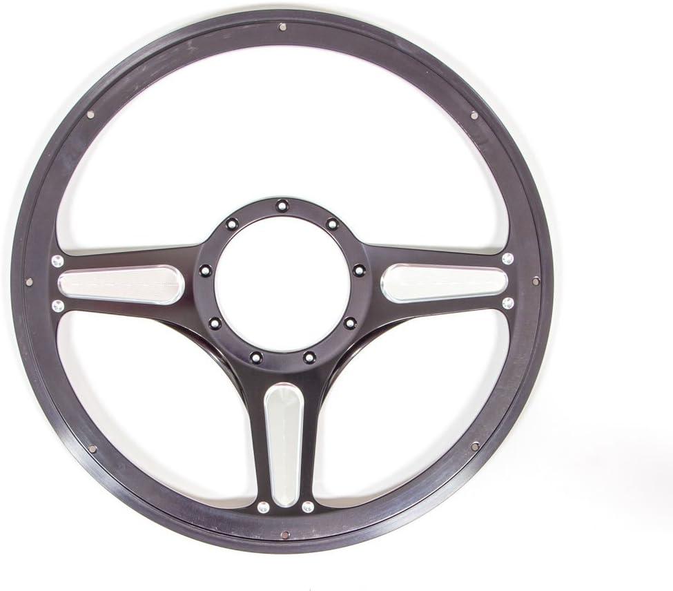 Billet Specialties 30765 14 Chicayne Half Wrap Billet Steering Wheel