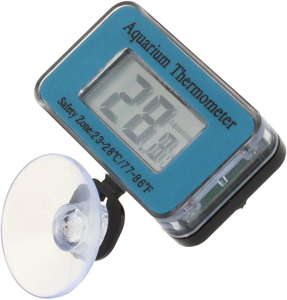 YDong Tauchfaehig Wasserfest Digital LCD Thermometer fuer Fischglas Aquarium