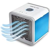 Luchtkoeler USB Mobiele Airconditioner Koeler, 3 in 1 USB Draagbare Mini Airconditioner, Luchtbevochtiger, Luchtreiniger…