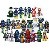 24 PCS Set Ninjago Full Set Minifigures Lego Building Blocks Toys LIMITED