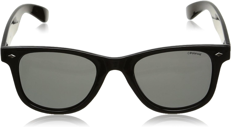 Polaroid - Lunette de soleil PLD 1016/S Rectangulaire - Homme Noir (Black/Grey)