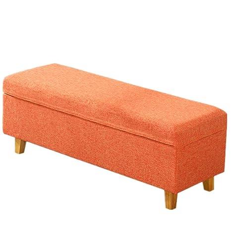Surprising Amazon Com Yadsheng Storage Ottoman Storage Stool Fabric Alphanode Cool Chair Designs And Ideas Alphanodeonline
