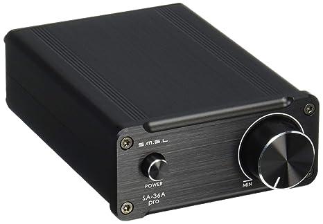 SMSL SA-36 A Pro amplificador digital negro