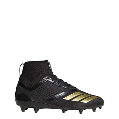 best loved 9dedc 1e603 adidas Men s Adizero 5-Star 7.0 SK Football Cleats (12, Black Gold