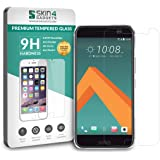 HTC 10 Tempered Glass Screen Guard Protector Ultra Strong (9H)-Slim by Skin4Gadgets with Gift Card of Rs.200.