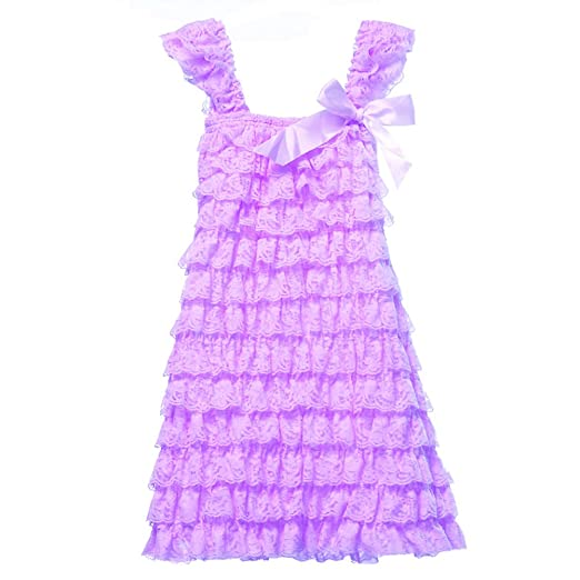 c884ac7dfe4 Cutie Baby Baby Girls  Lace Ruffle Petti Dress (d. XLarge-3-
