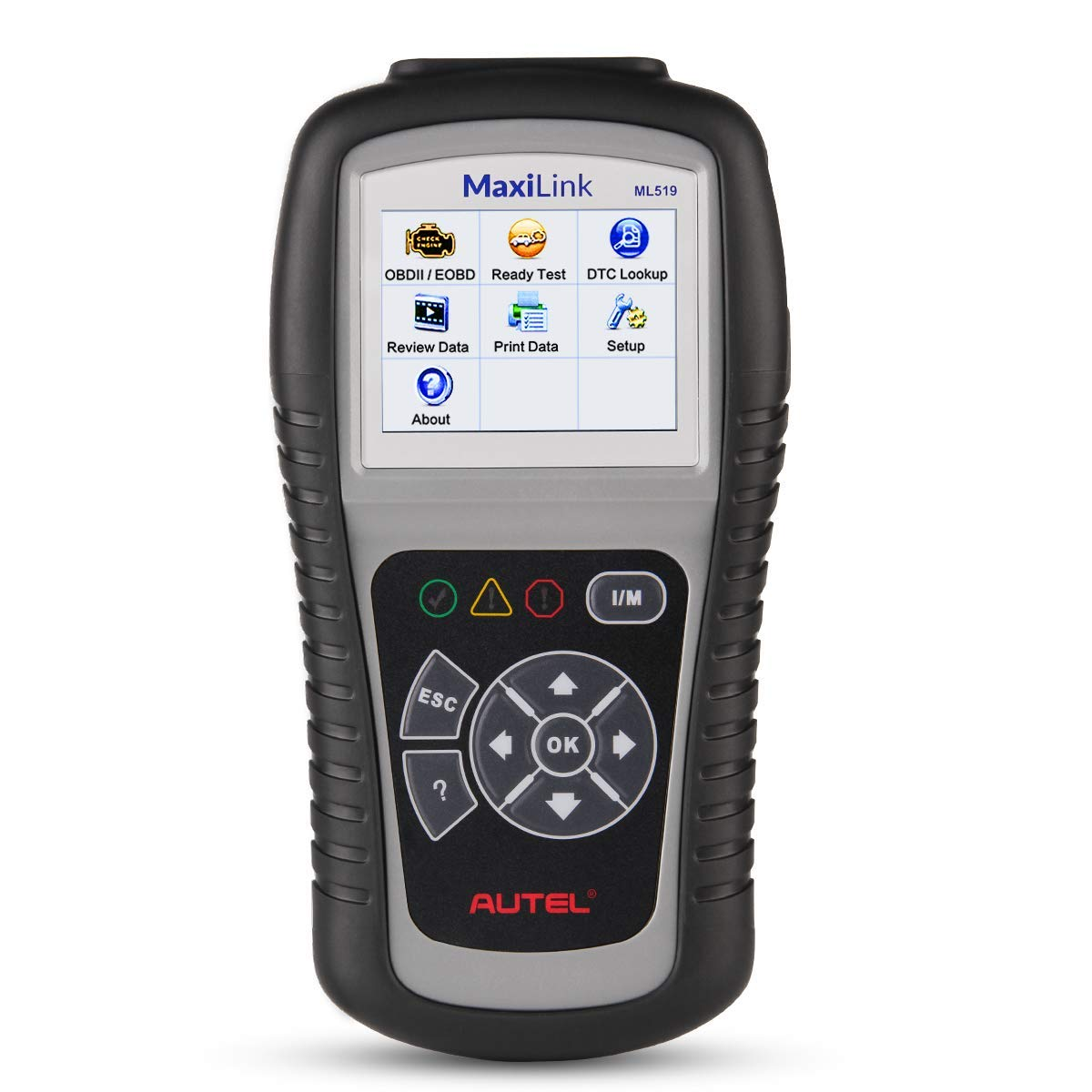 Autel MaxiLink ML519 OBDII/EOBD Scanner Enhanced OBD II Mode 6,Code Reader with The Same Function as al519