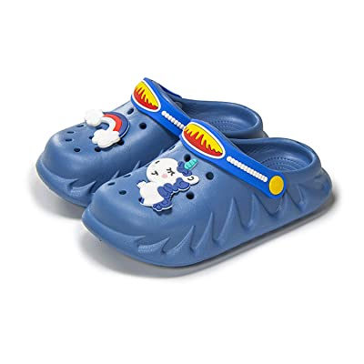 Boys Girls Garden Shoes Kids Cartoon Slides Sandals Clogs Beach Pool Slippers UK