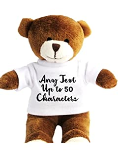 1ef6f51c992 Personalised Teddy in a Bag - Own Text. Personalised details required