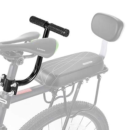 AUVSTAR Cojín para asiento trasero de bicicleta, asiento trasero de bicicleta de montaña, asiento trasero de bicicleta de montaña, asiento trasero de ...