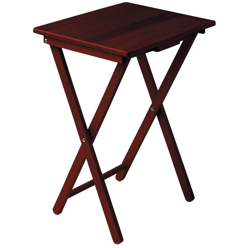 coffee table mahogany side table folding coffee table amazon co