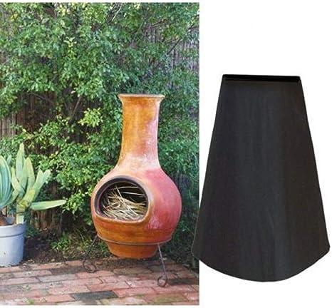 HIGGER 1 Unidades 210D Oxford Paño Cubierta de Estufa de jardín al Aire Libre, a Prueba de Polvo a Prueba de Lluvia Impermeable Cubierta de Estufa horneada: Amazon.es: Deportes y aire libre