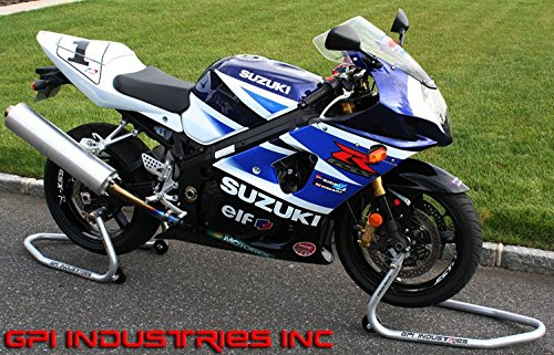 GP Pro Series - Universal Front and Rear Motorcycle Sportbike Paddock Race Stands Lifts For Kawasaki Suzuki Honda Yamaha BMW Ducati Triumph Sport and Sport Touring Bikes by GPI Industries (Image #7)