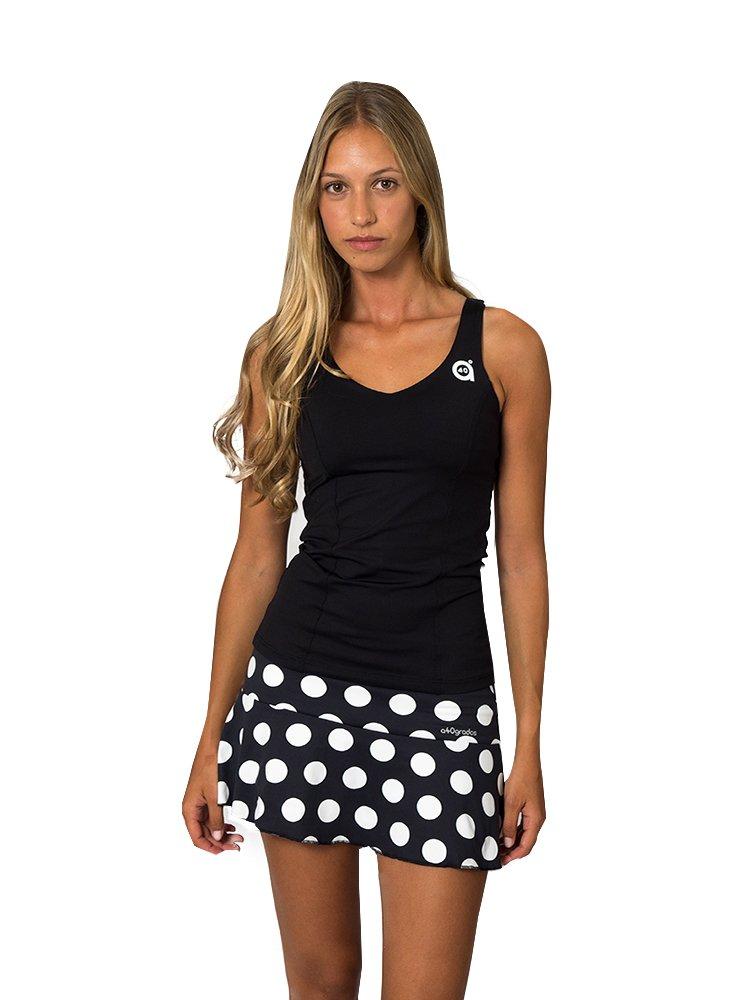 Paddle Falda Lunar a40grados Sport /& Style Mujer Lunar Blanco Tenis y Padel
