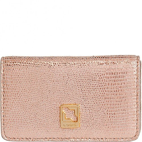 Lodis Lined Wallet (Lodis Accessories Women's Sophia Glamorous Mini Card Case Rose Gold Wallet)
