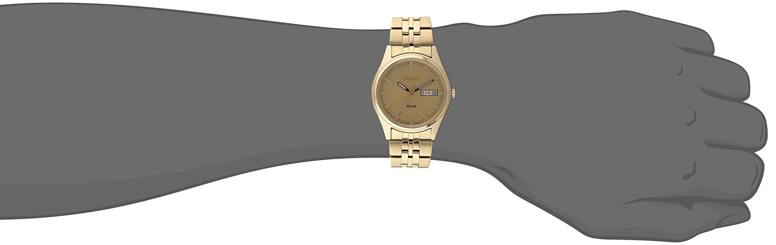 Seiko Men's SNE036 Stainless Steel Solar Watch