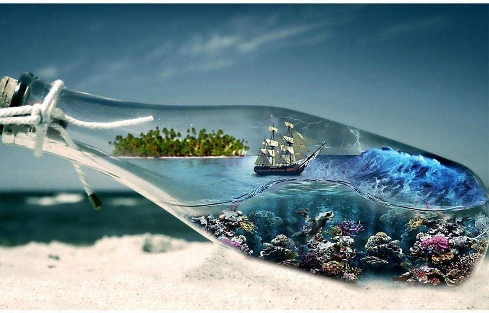 5D Diamond Painting Diy Diamante Pintura Mar Completo Redondo ...