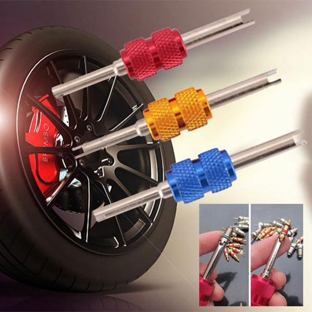 Sedeta Valve Stem Core Remover SUV Truck Tire Tyre Dual Repair Install Remove Mend Tool for car