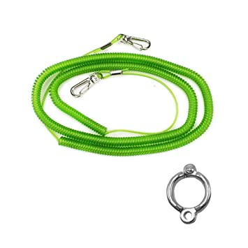Wankd - Cuerda de Loro para Mascotas, Loro, arnés para pájaros ...