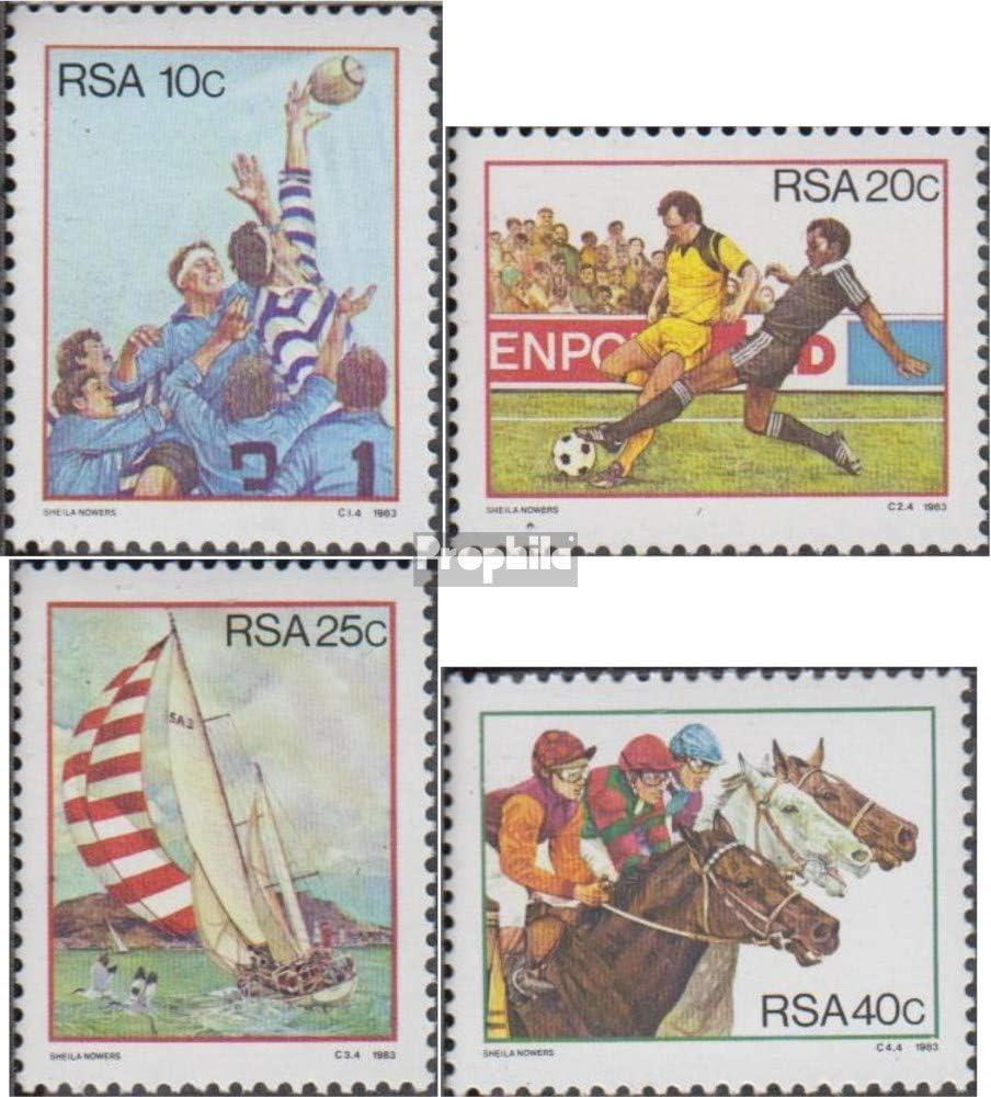 Prophila Collection S/üdafrika 634-637 1983 Sport Pferde kompl.Ausg. Briefmarken f/ür Sammler