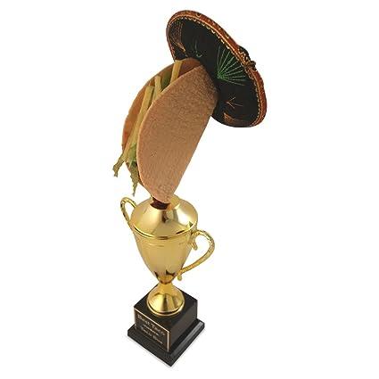 Amazon.com: Taco Copa trofeo premio – Taco comer concurso ...