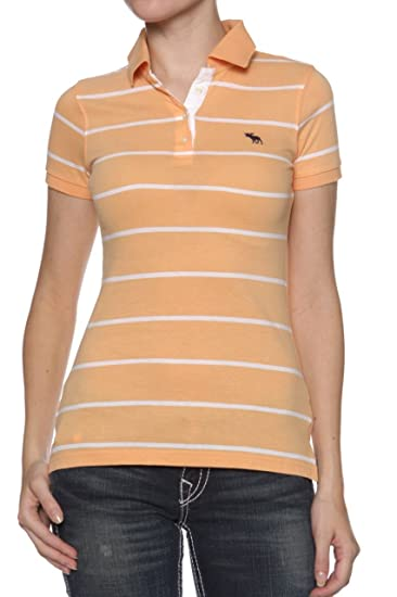 Abercrombie & Fitch Polo SUSSY para mujer, Color: Naranja, Talla ...