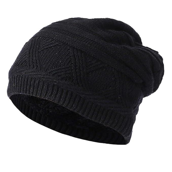1b5ba0537 Amazon.com: MingDe Sports Men Women Baggy Warm Crochet Winter Wool ...
