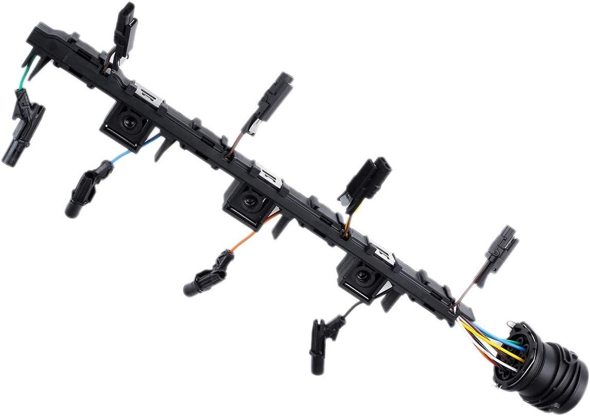 Nrpfell 03G971033L Telar de Cableado del Inyector Arnés de Conexión para A3 A4 2004-2008 2.0 Tdi