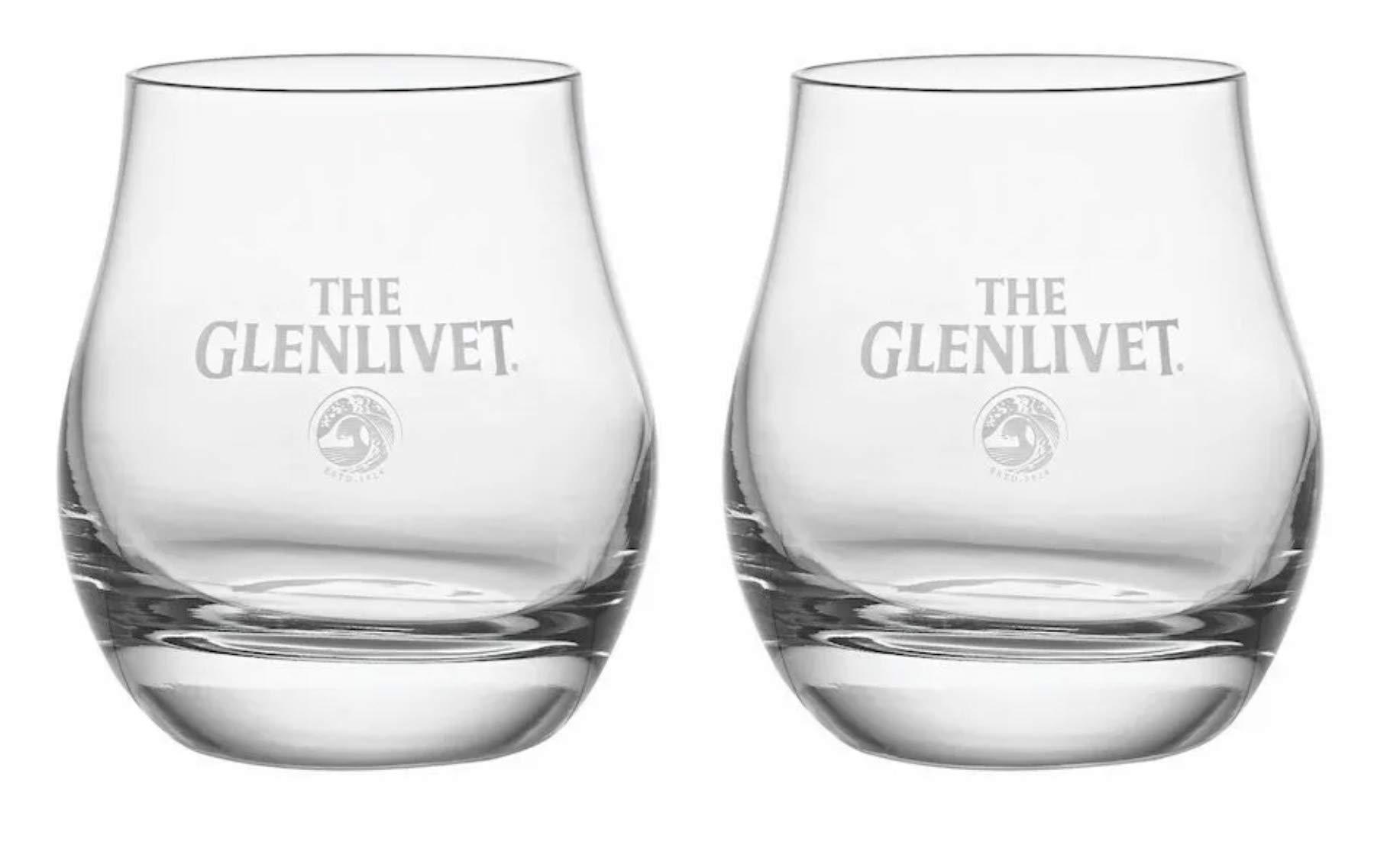 The Glenlivet Scotch Whiskey Snifter Glasses (Set of 2)