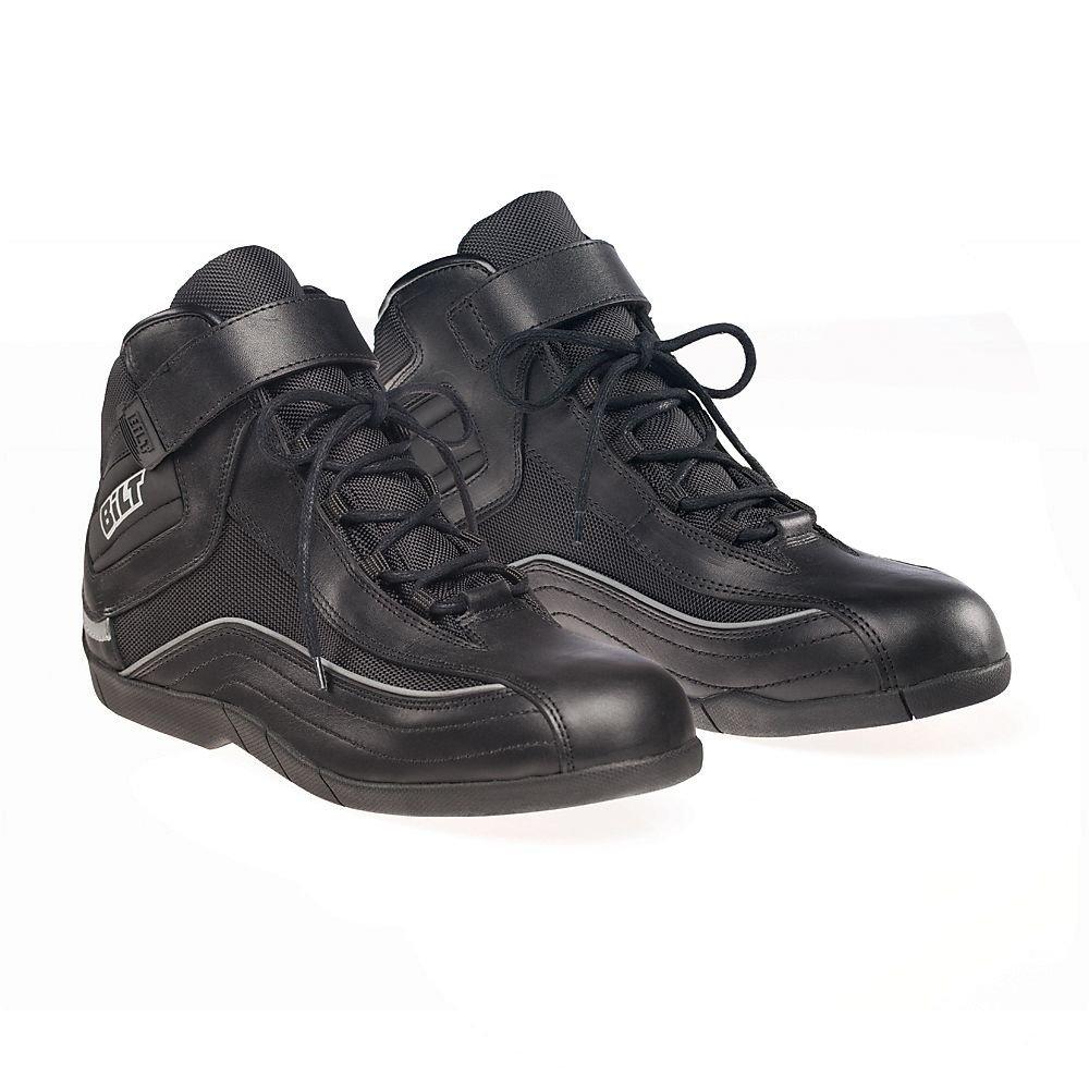 BILT Women's Pit Motorcycle Boots - 9, Black