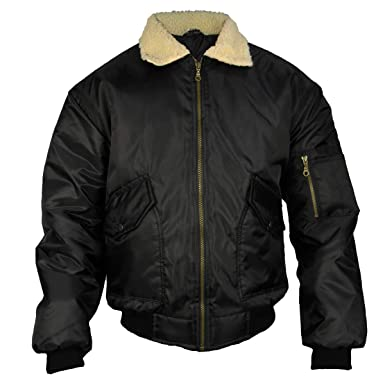 Mens Location MA2 Pilot Military Army Flight Bomber Jacket Authentic Combat Coat