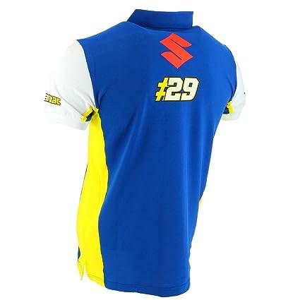 Team Suzuki Ecstar MotoGP 2018 Andrea Iannone #29 - Polo para ...