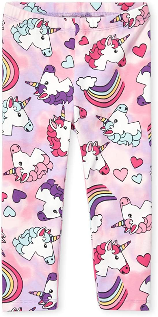 The Childrens Place Baby Girls Printed Leggings