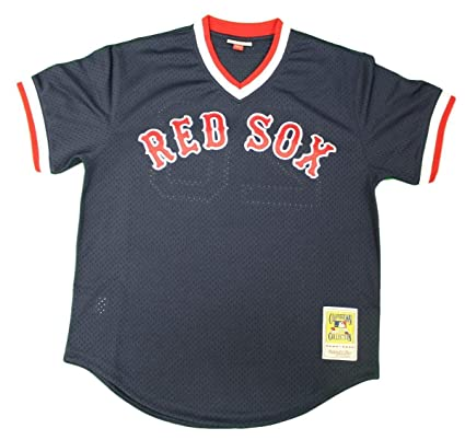 save off 11cf6 6b2c2 Mitchell & Ness Wade Boggs #26 Boston Red Sox Men's Batting Practice Mesh  Jersey Navy