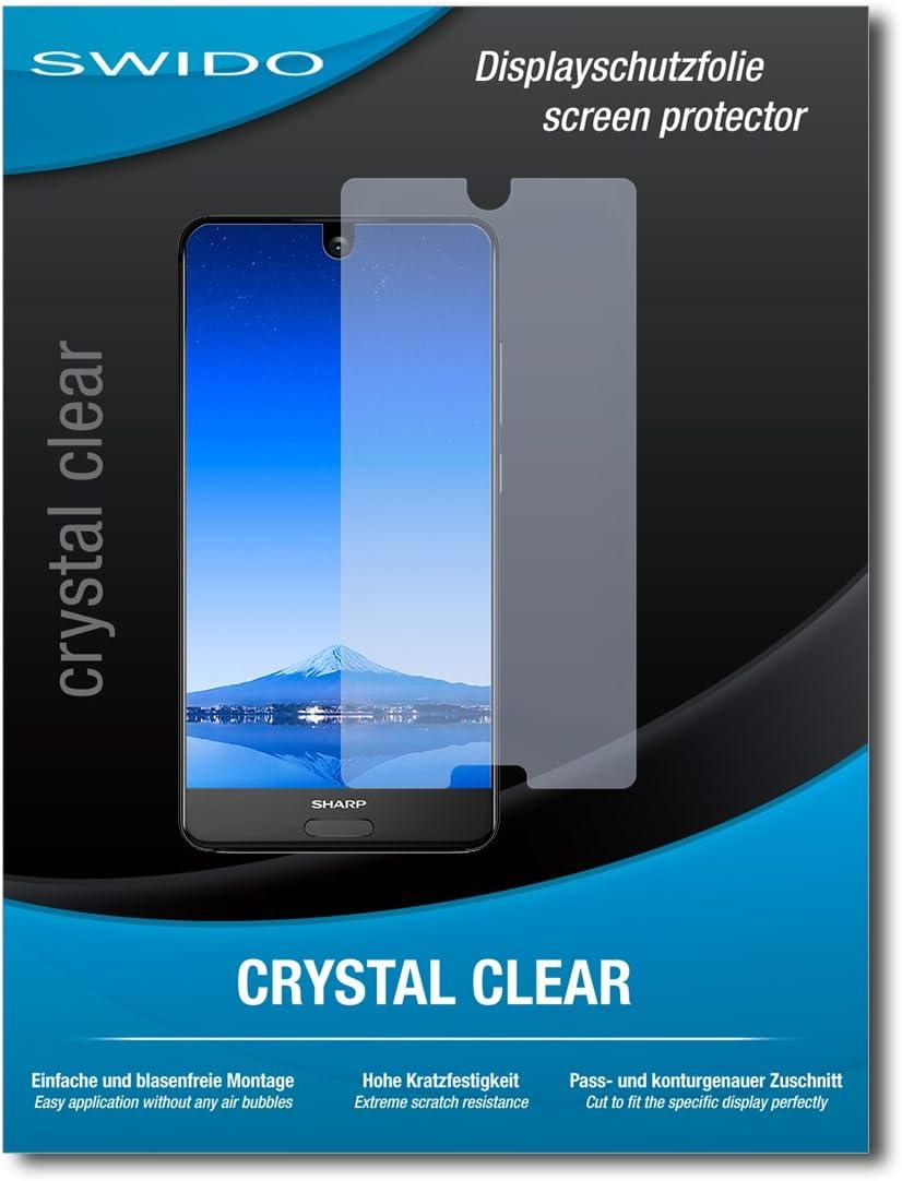 2 x SWIDO® Protector de pantalla Sharp Aquos S2 Protectores de pantalla de película