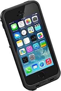 LifeProof FRE SERIES Waterproof Case for iPhone SE (1st gen - 2016) and iPhone 5/5s - Retail Packaging - BLACK