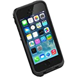 LifeProof FRE SERIES Waterproof Case for iPhone 5/5s/SE - Retail Packaging - BLACK