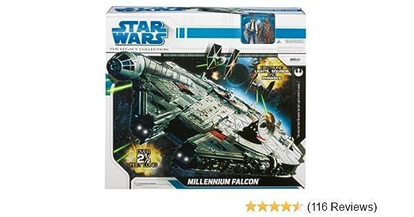 Star Wars Force Link 2.0 Millennium Falcon Starter Set Han Solo Kessel Grd NIB