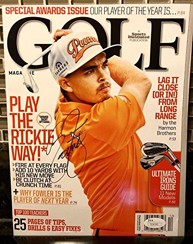 Rickie Fowler autograph Golf Magazine Signed PGA - JSA Certified - Autographed Golf Magazines