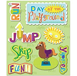 K&company Playground Sticker Medley